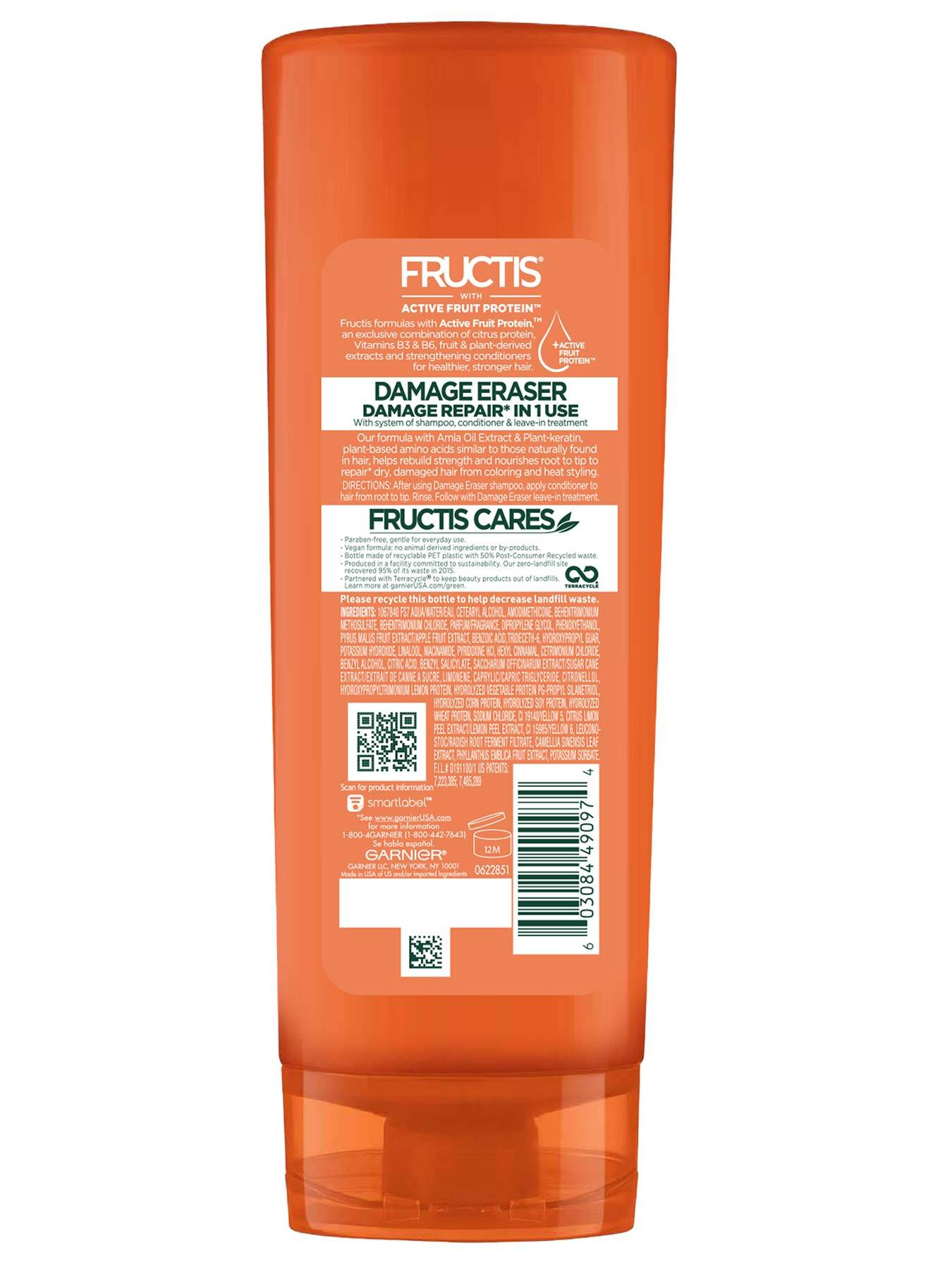 Back view of Damage Eraser Conditioner for Damaged Hair.