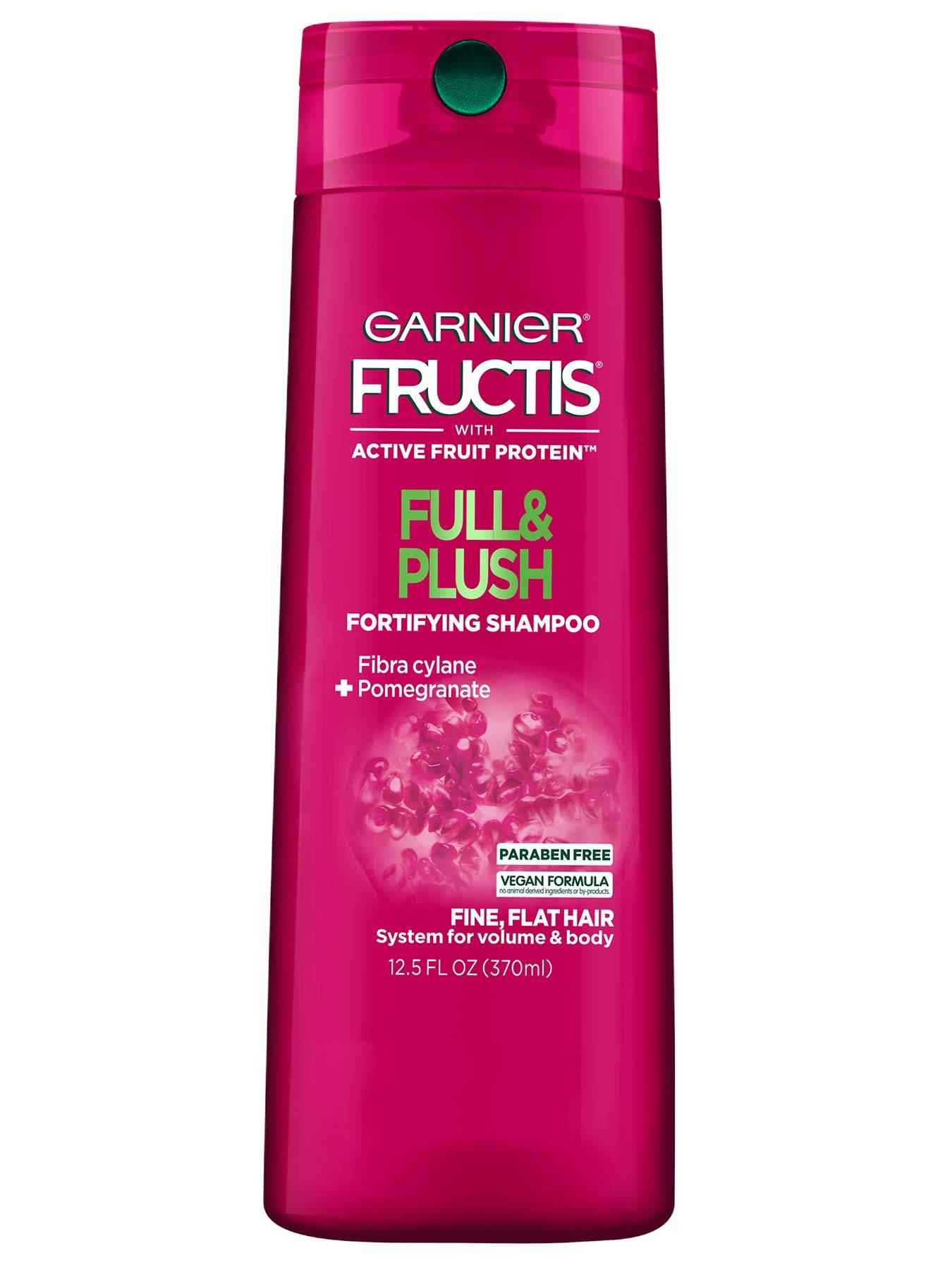 Front view of Full and Plush Shampoo for Fine Hair.