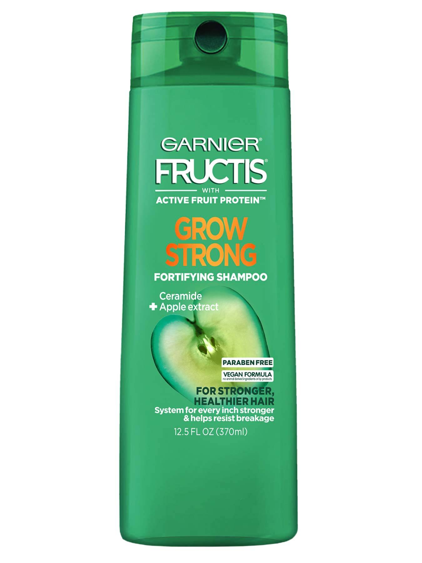 Grow Strong Shampoo Strong Shiny Healthy Hair Garnier