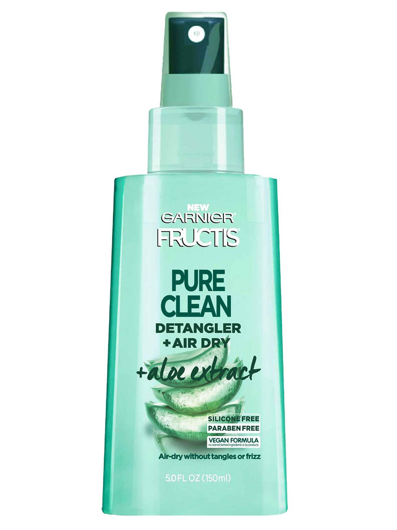 Front view of Pure Clean Aloe Detangler for Oily Hair.