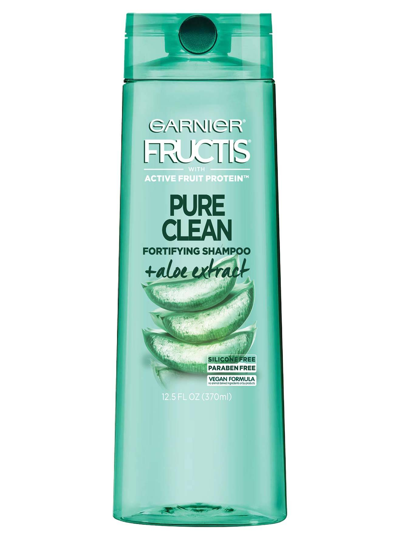 Front view of Pure Clean Aloe Shampoo for Oily Hair.