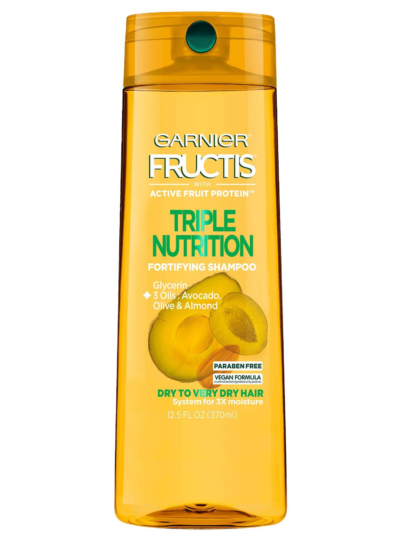 Front view of Triple Nutrition Shampoo for Very Dry Hair.