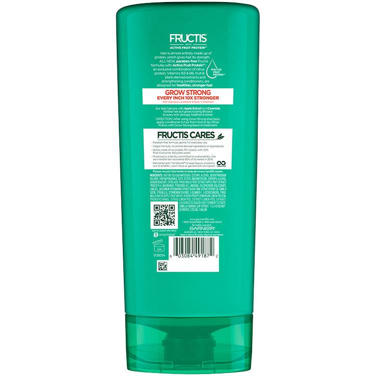 Fructis Grow Strong Conditioner 21floz back