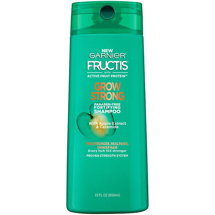Fructis Grow Strong Shampoo 22 floz front