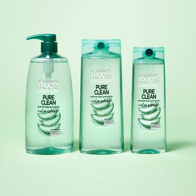 Fructis Pure Clean Shampoo Family