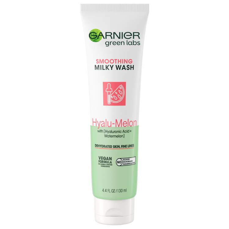 Garnier Greenlabs Hyalu Melon Cleanser spotlight