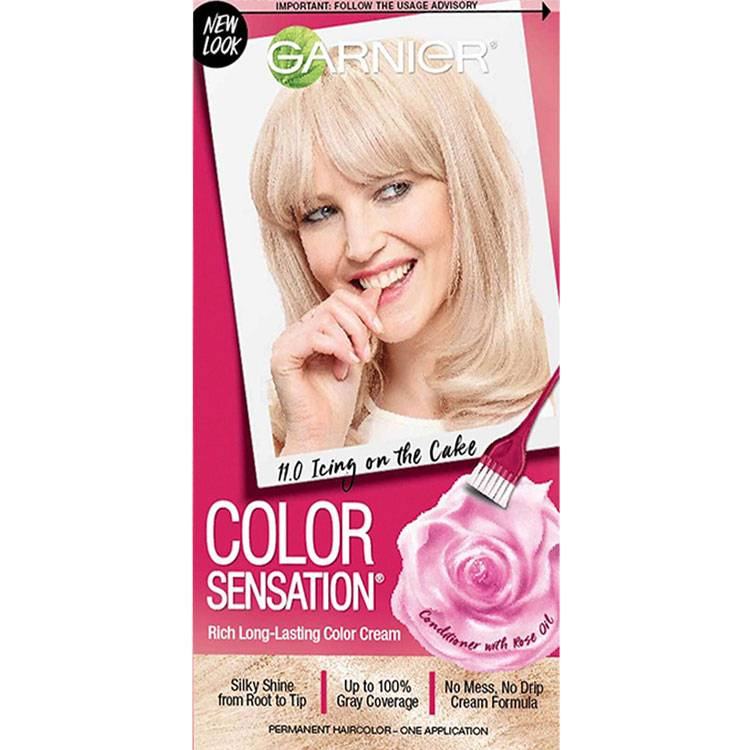 Garnier color sensation hair color 11.0 extra light natural blonde