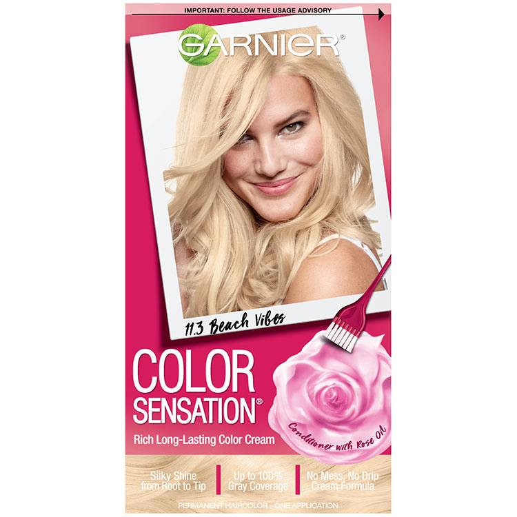 Color Sensation Hair Color 11.3 Beach Vibes Extra Light Sun Blonde