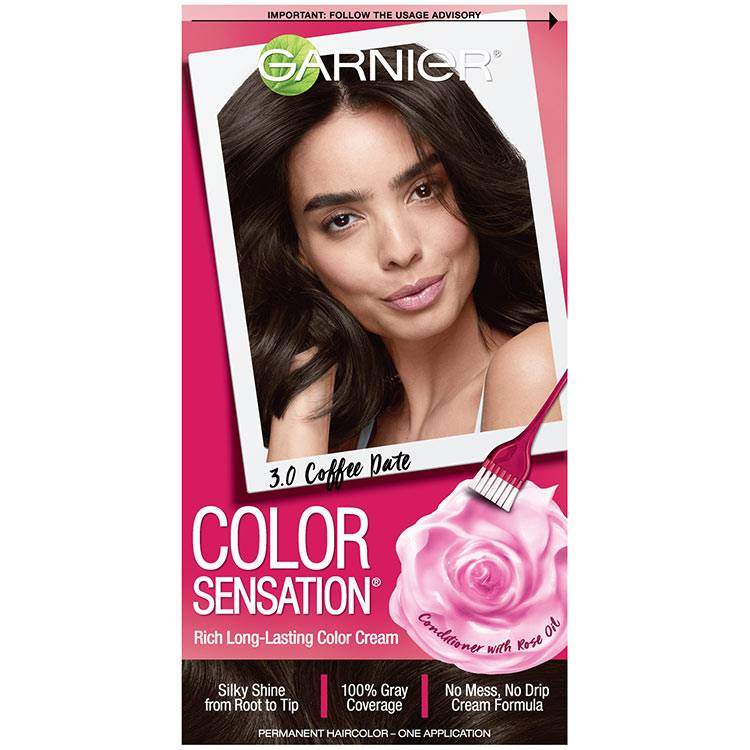 Color Sensation Hair Color 3.0 Coffee Date Darkest Brown