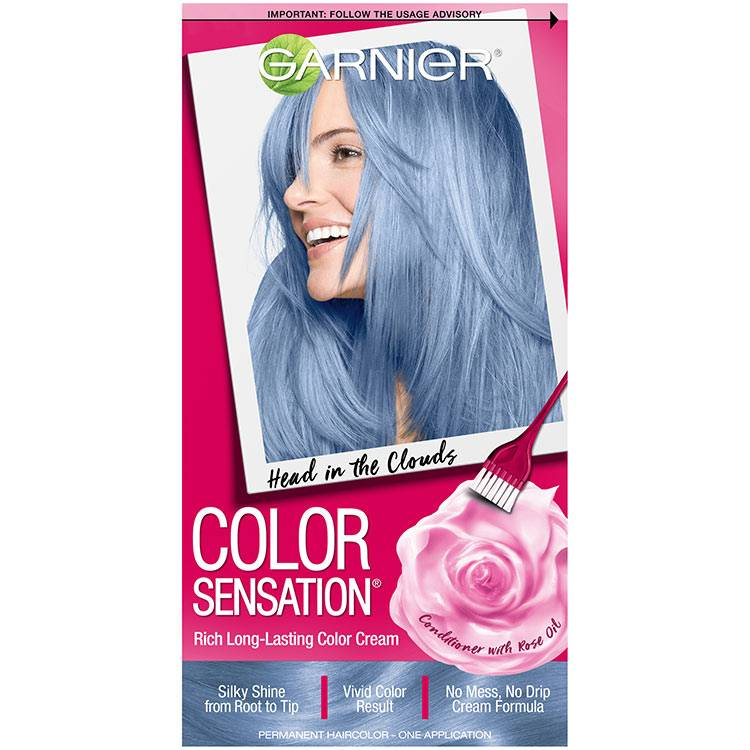 Color Sensation Hair Color 8.10 Head in the Clouds Light Blue