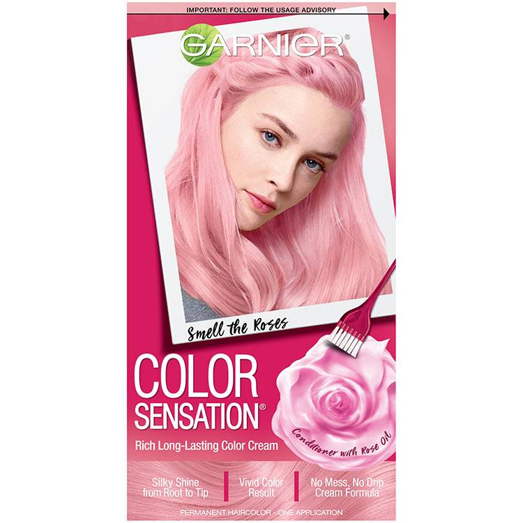 Color Sensation Hair Color 920 Smell the Roses Light Pink