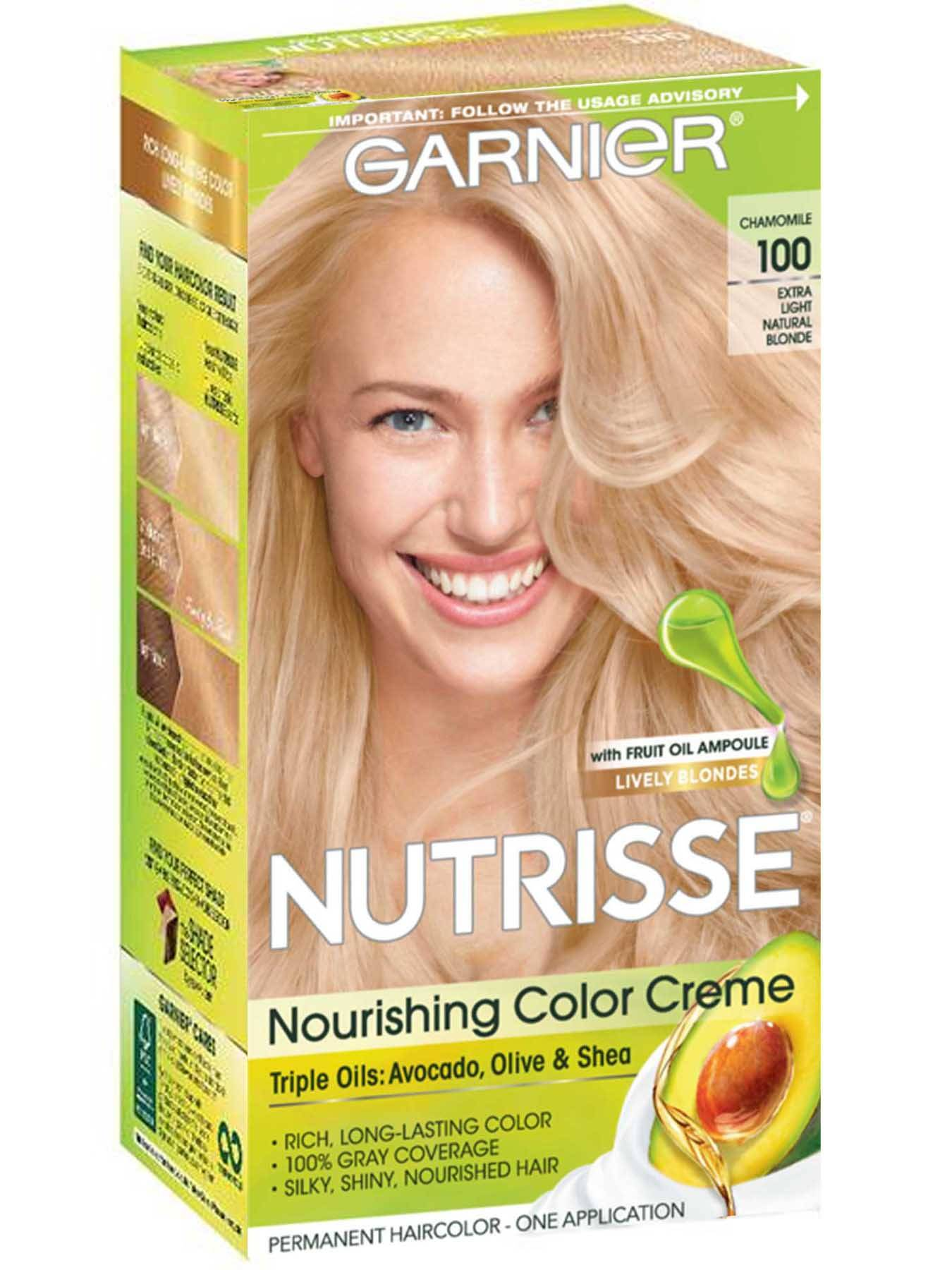 Nutrisse Nourishing Color Creme - Extra-Light Natural Blonde - Garnier