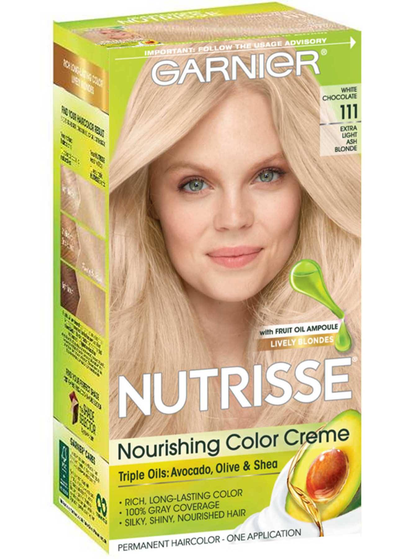 Nutrisse Nourishing Color Creme Extra Light Ash Blonde 111 Garnier