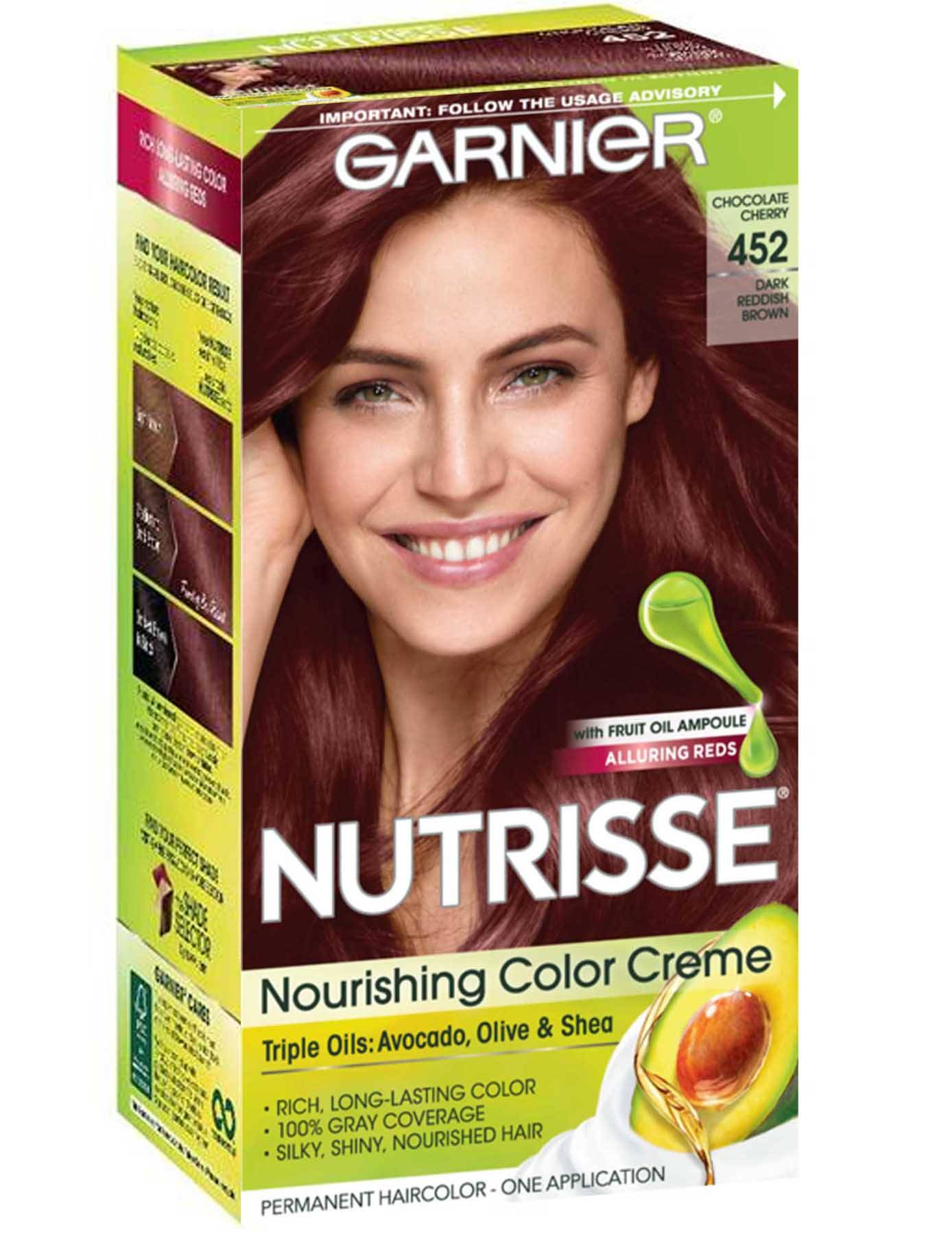 Nutrisse Nourishing Color Creme Dark Reddish Brown 452