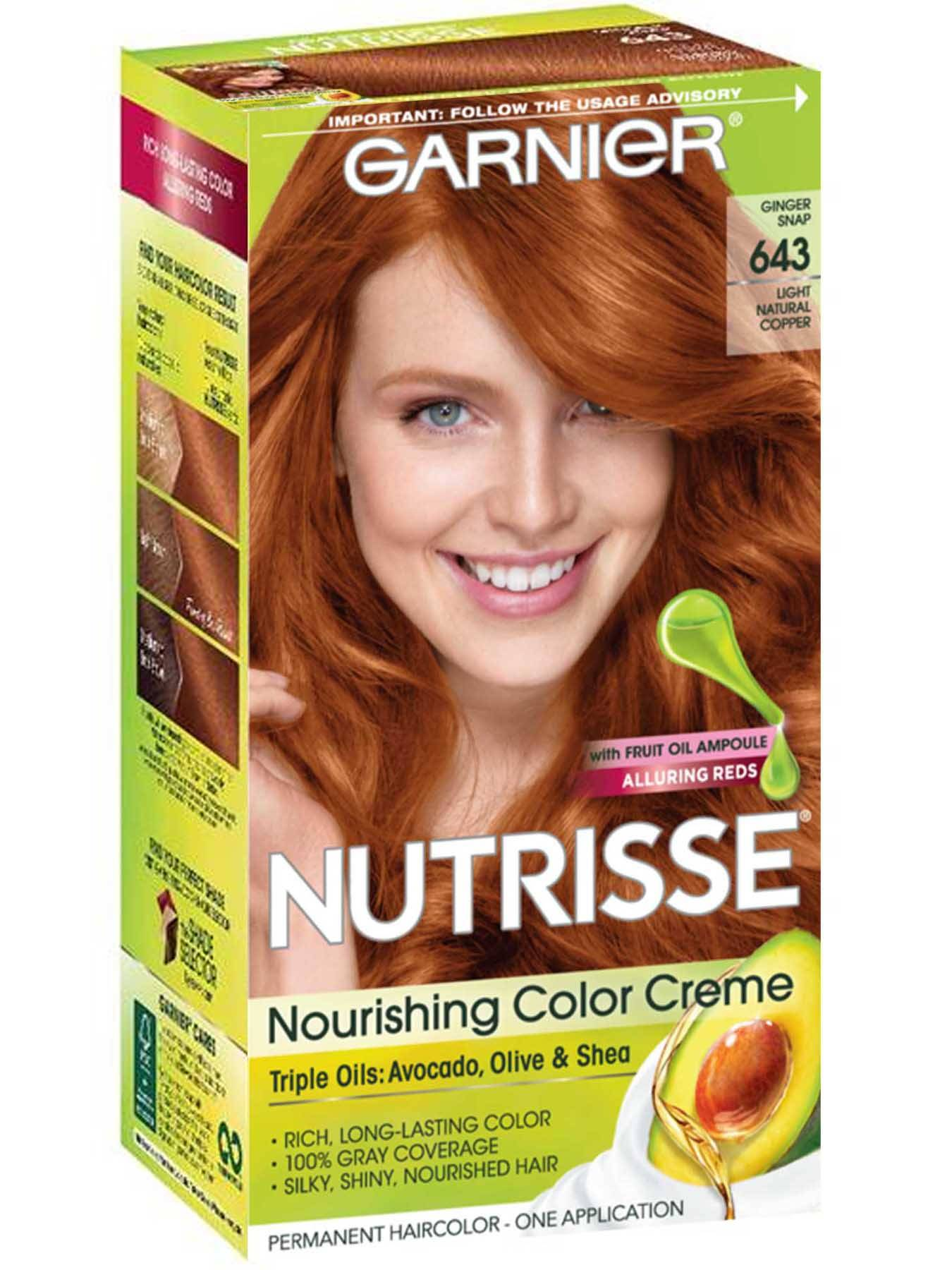 Nutrisse Nourishing Color Creme - Light Intense Copper - Garnier