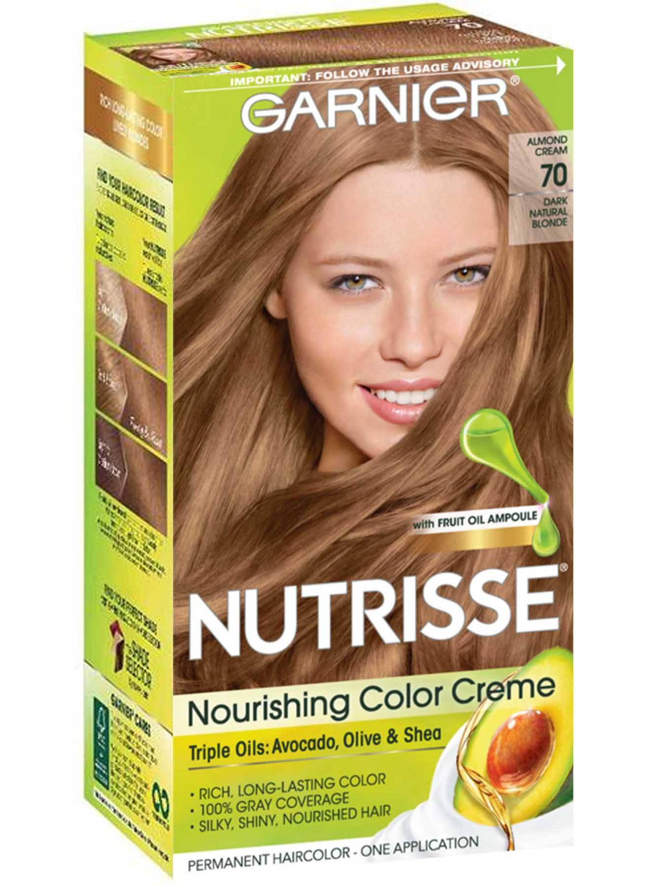 Nourishing Color Creme - Dark Natural Blonde 70 - Garnier
