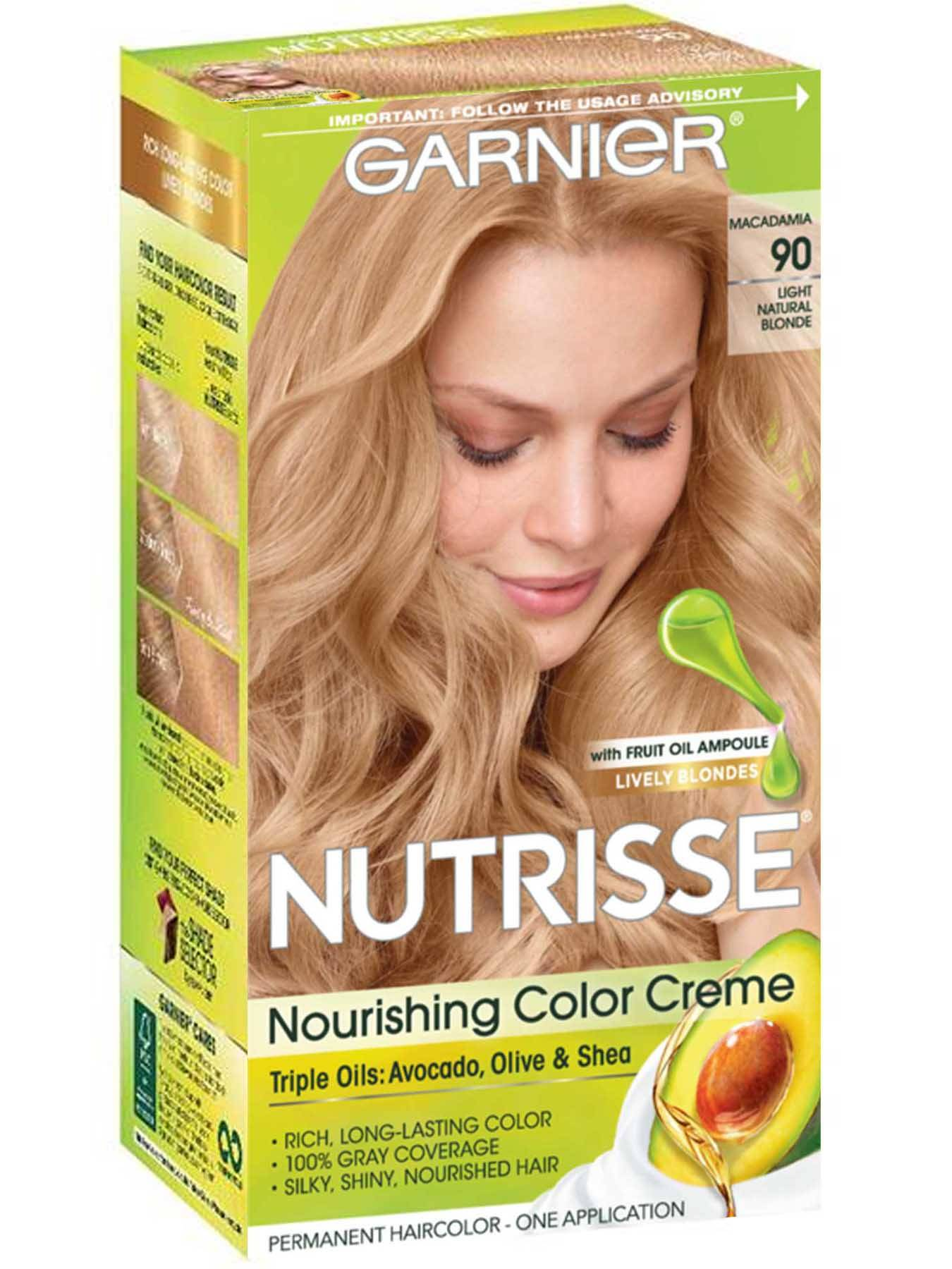 Nutrisse Nourishing Color Creme - Light Natural Blonde 90 - Garnier