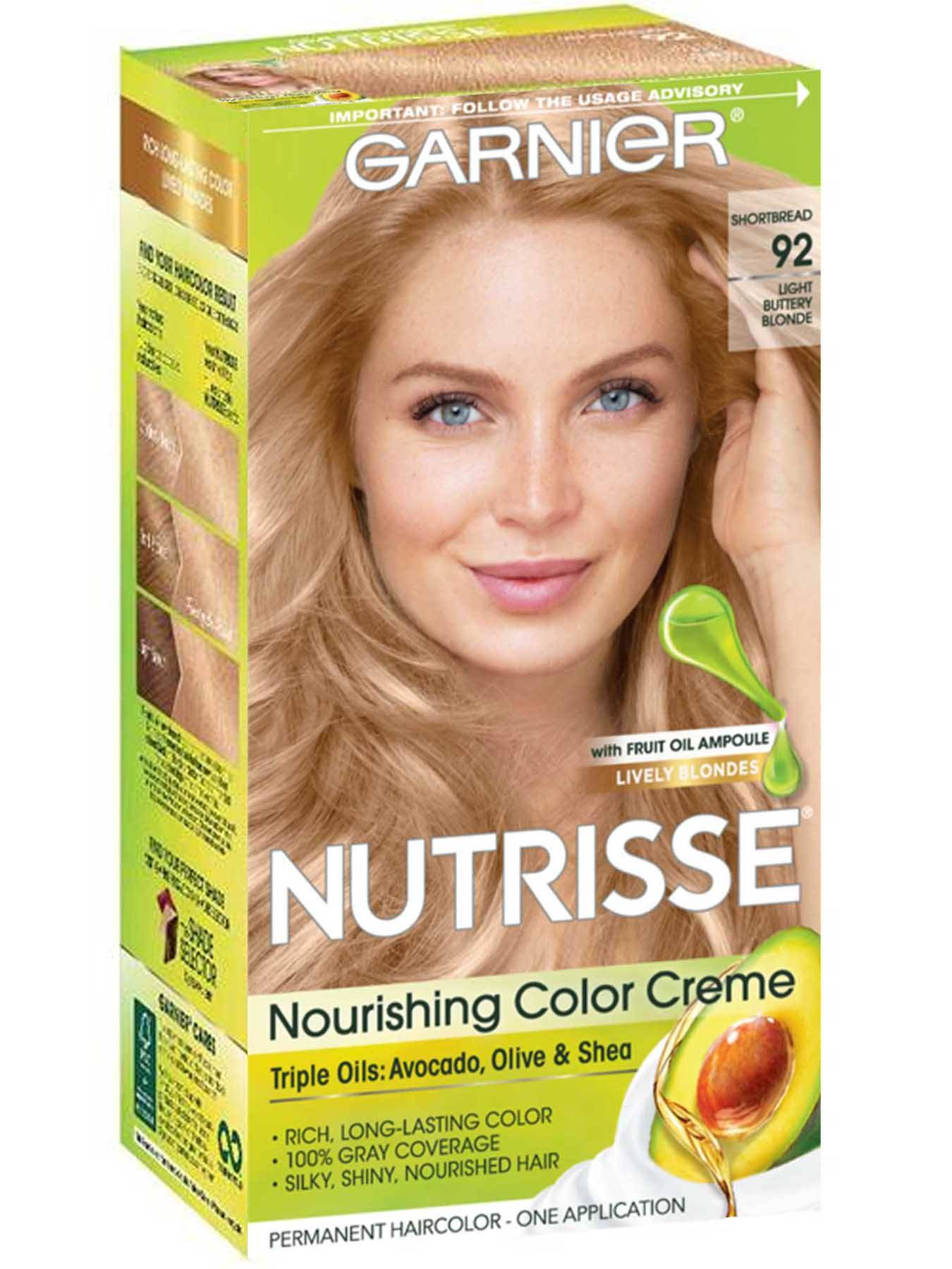 Nutrisse Color Creme - Light Buttery Blonde Hair Color - Garnier