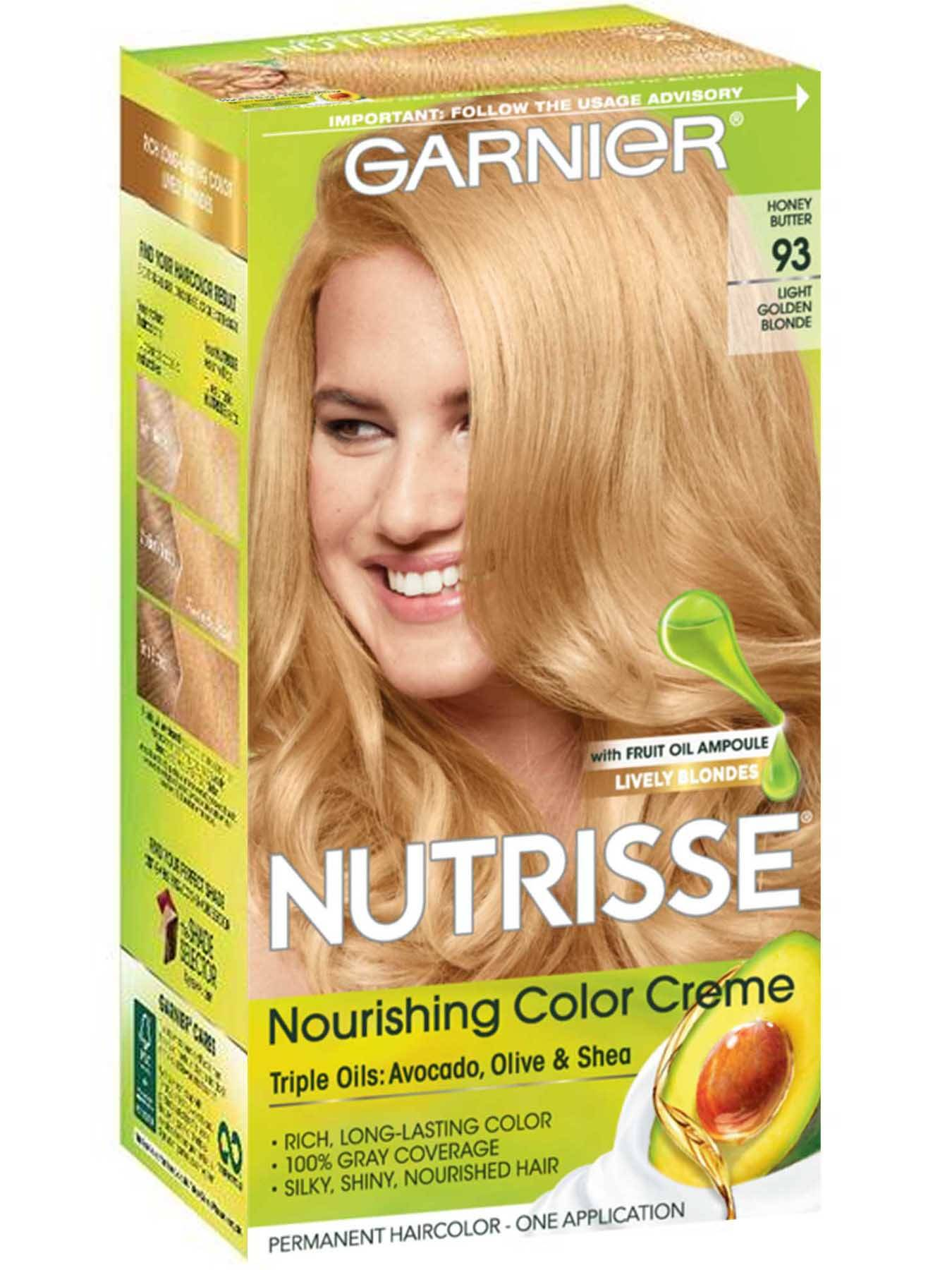 Nutrisse Nourishing Color Creme - Light Golden Blonde 93 - Garnier