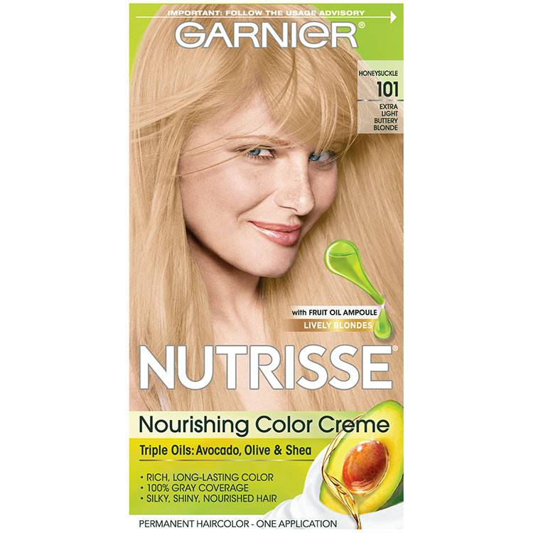 Nutrisse Color Creme - Extra Light Buttery Blonde Hair Color - Garnier