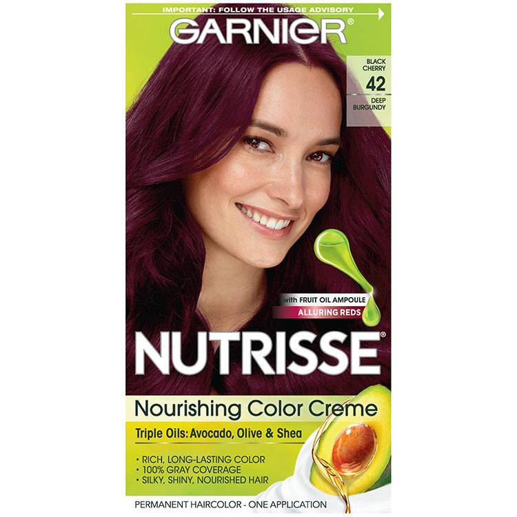 Nutrisse Nourishing Color Creme - Deep Burgundy 42 - Garnier