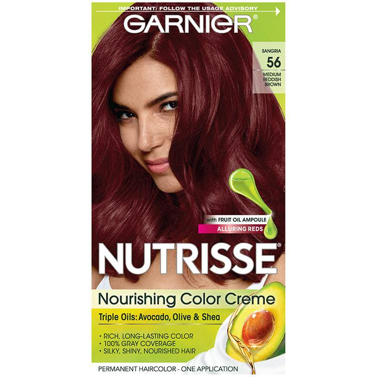 Nutrisse Nourishing Color Creme - Medium Reddish Brown 56 - Garnier