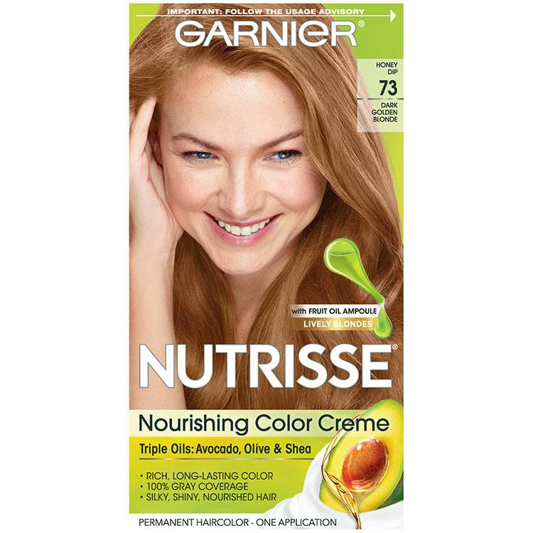 Nutrisse Nourishing Color Creme - Dark Golden Blonde 73 - Garnier