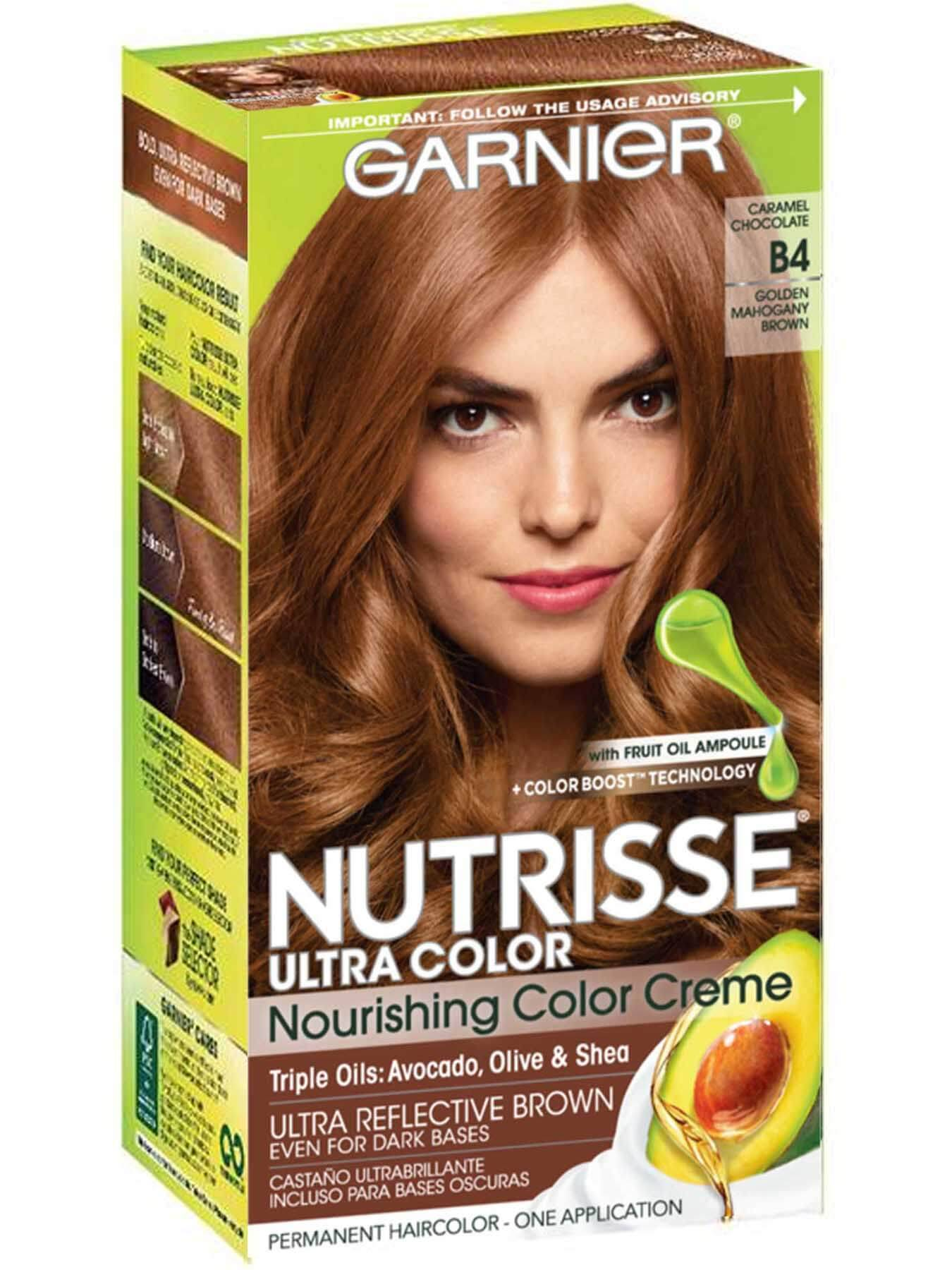 Nutrisse Ultra-Color - Caramel Chocolate Hair Color - Garnier