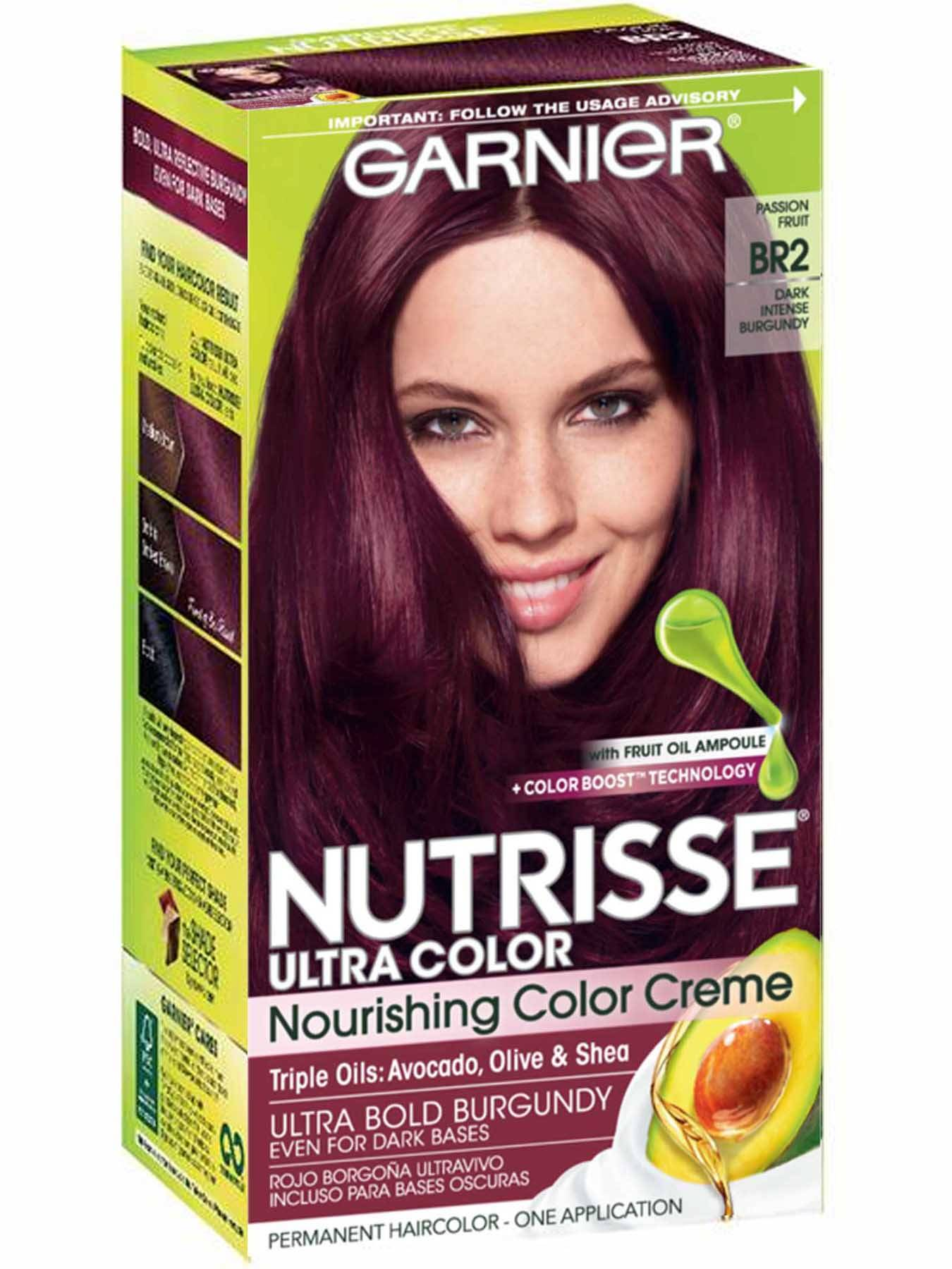 Nutrisse Ultra-Color - Dark Intense Burgundy Hair Color - Garnier
