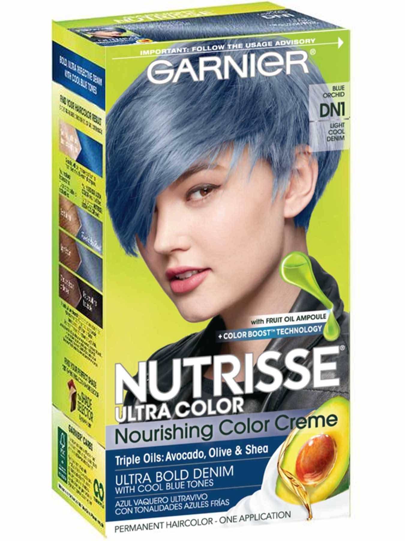 Cool Colors To Dye Your Hair: Light Cool Denim Hair Color