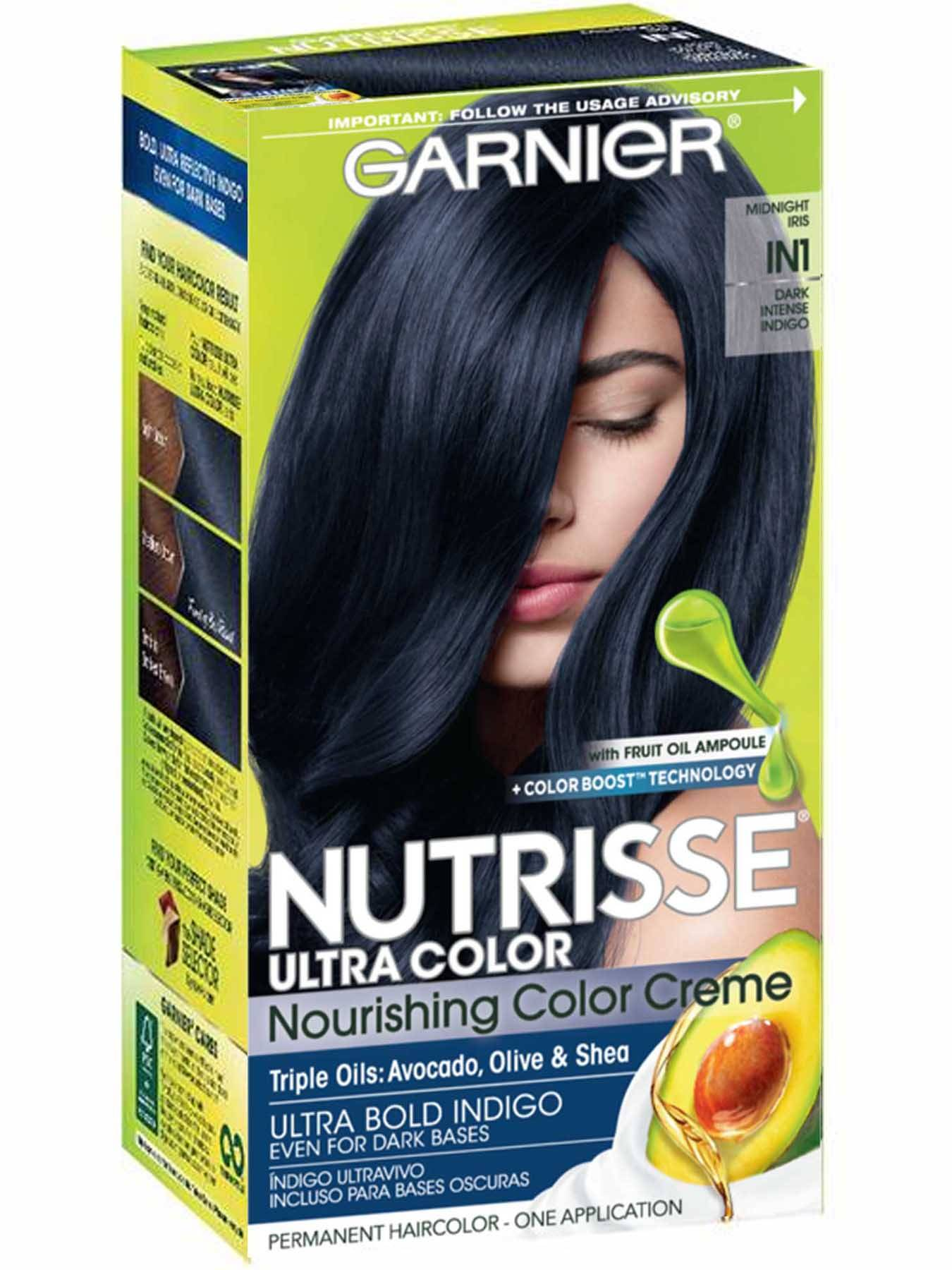 Nutrisse Ultra Color - Dark Intense Indigo Hair Color - Garnier