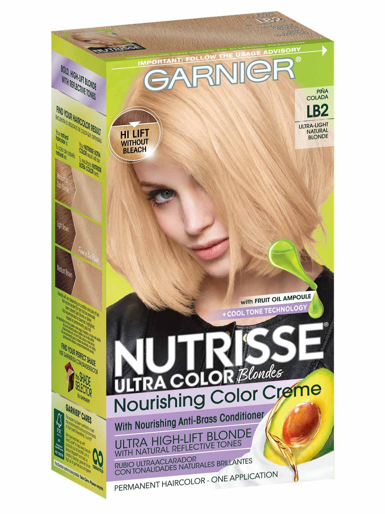 Nutrisse Ultra-Color - Ultra Light Natural Blonde Hair Color - Garnier