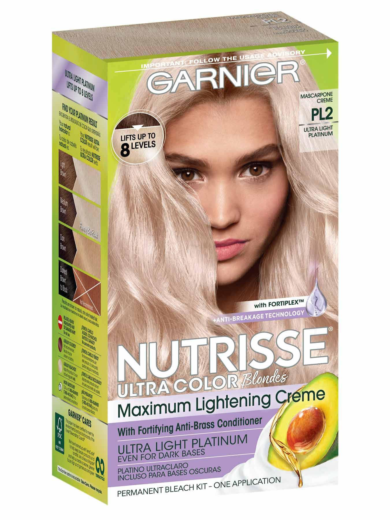 Nutrisse Ultra-Color - Ultra Light Platinum Hair Color - Garnier