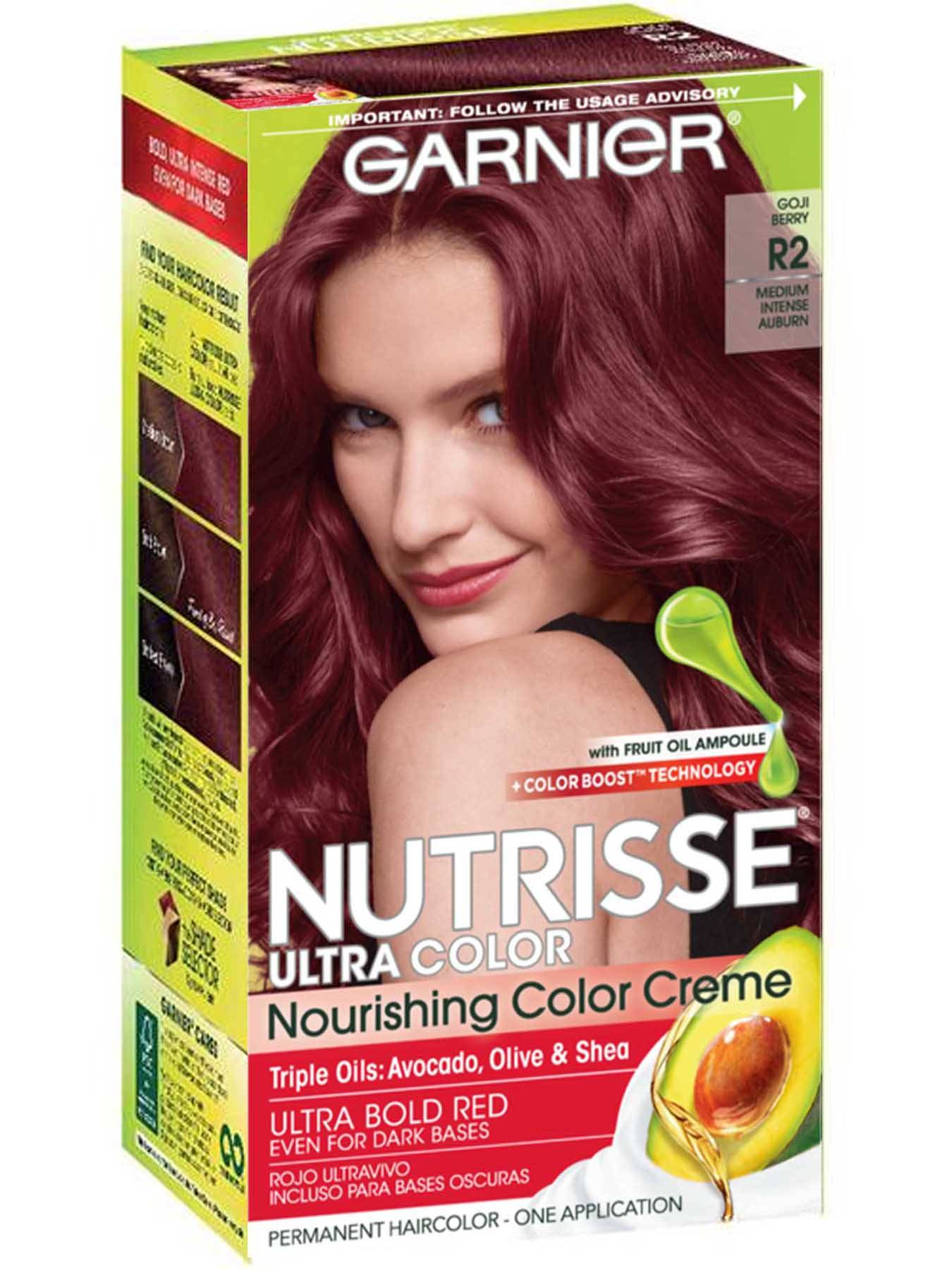 Nutrisse Ultra-Color - Medium Intense Auburn Hair Color - Garnier