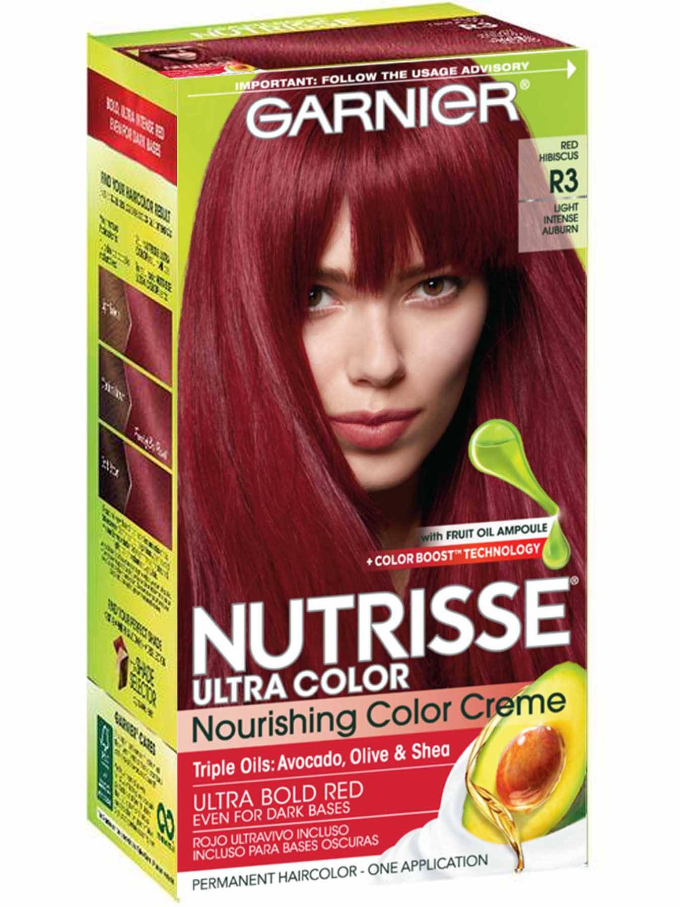 Nutrisse Ultra Color Light Intense Auburn Hair Color Garnier