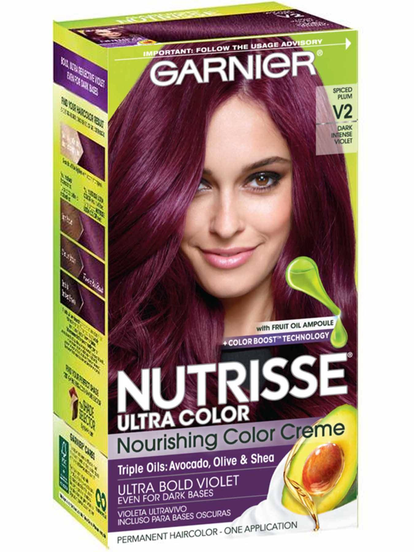 Nutrisse Ultra Color - Dark Intense Violet Hair Color - Garnier