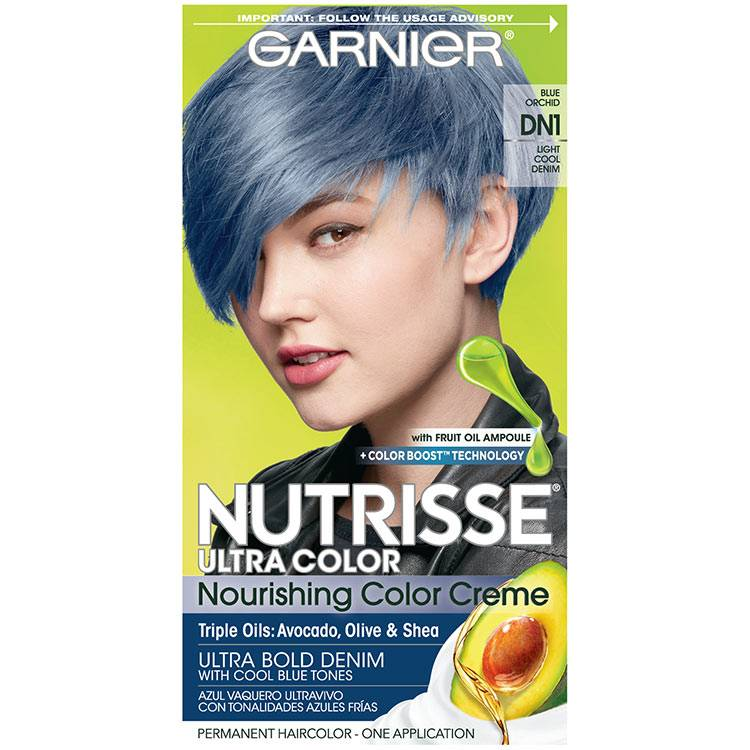 Nutrisse Ultra Color - Light Cool Denim Hair Color - Garnier