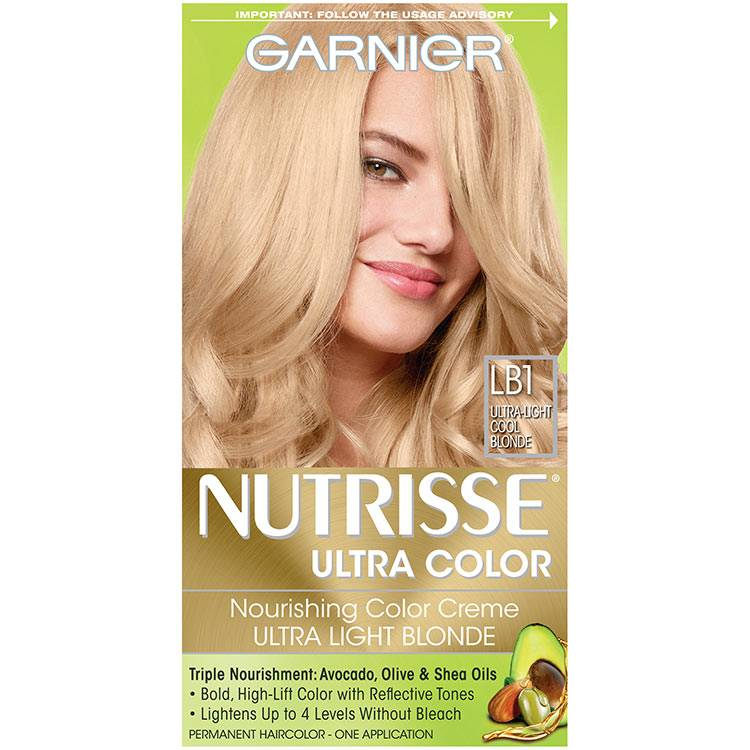 Nutrisse Ultra-Color - Ultra Light Cool Blonde Hair Color - Garnier