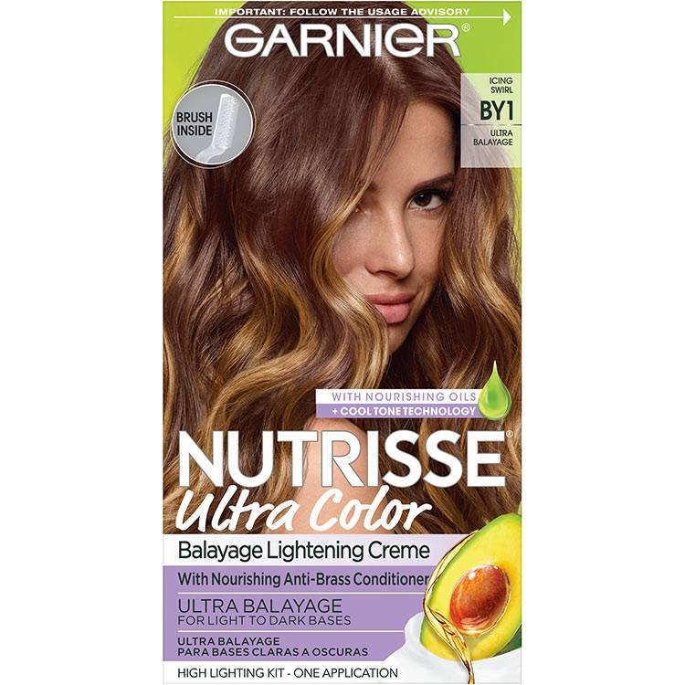 Garnier Nutrisse Ultra Color Nourishing Hair Color Creme icing swirl by1