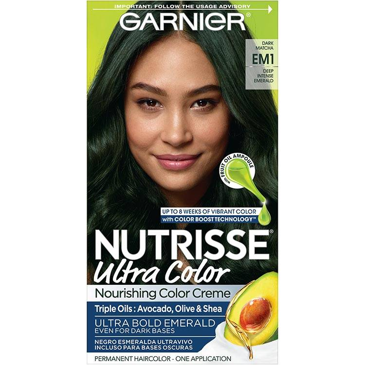 Garnier Nutrisse Ultra Color Nourishing Hair Color Creme Matcha Latte em1
