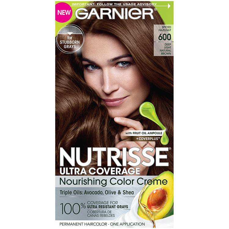 Front view of Nutrisse Ultra Coverage 600 - Spiced Hazelnut.