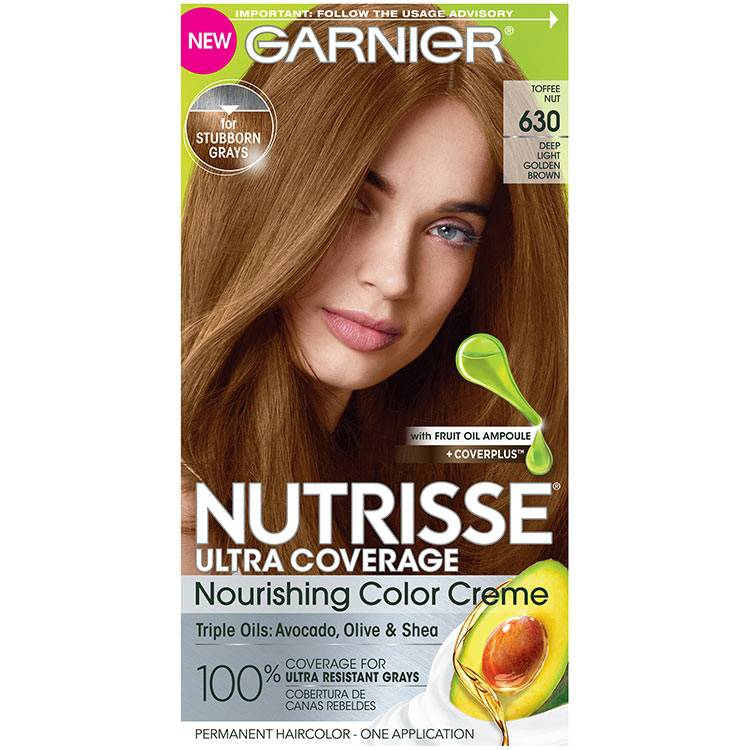 Front view of Nutrisse Ultra Coverage 630 - Toffee Nut.