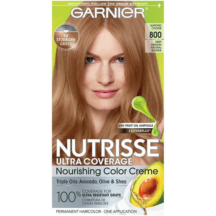 Front view of Nutrisse Ultra Coverage 800 - Almond Cookie.