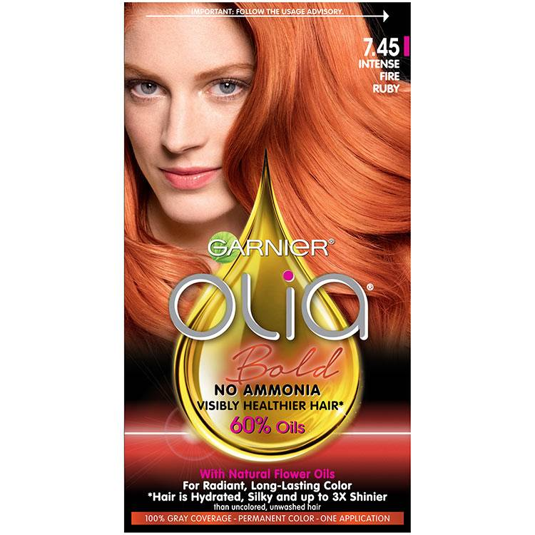 Hair Color Olia Bold Intense Fire Ruby