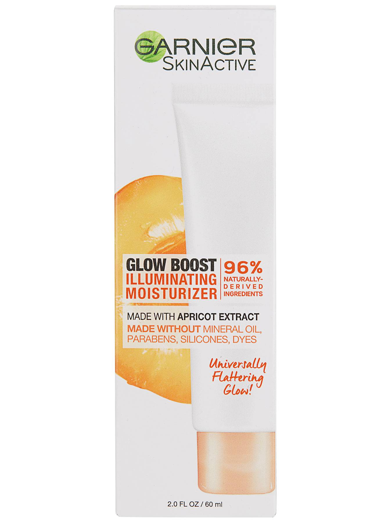 Front view of Glow Boost Illuminating Moisturizer box.