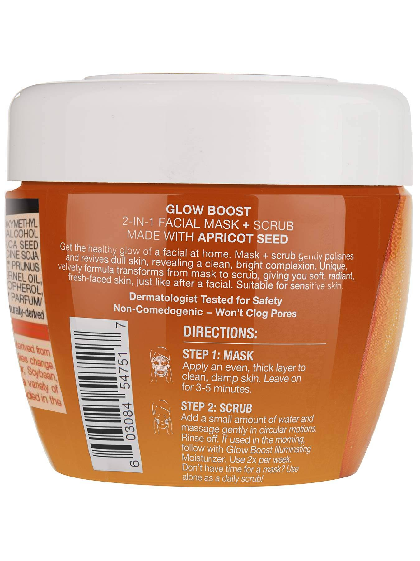 Glow Boost 2-in-1 Facial Mask and Scrub