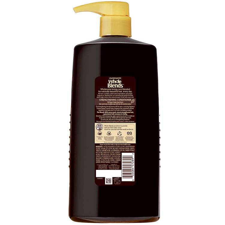 Whole Blends Ginger Recovery Conditioner 26.6 floz back
