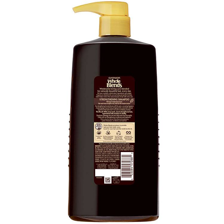 Whole Blends Ginger Recovery Shampoo 28 floz back