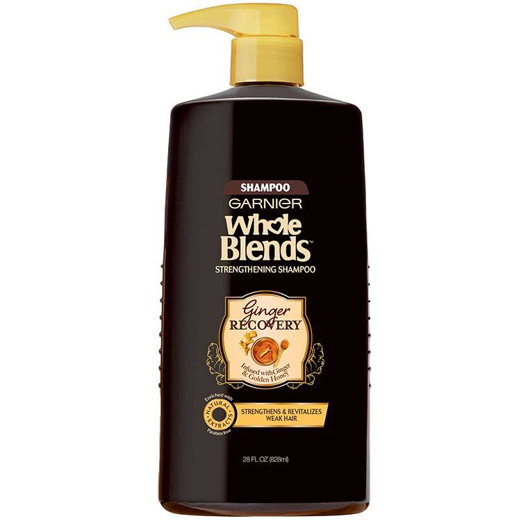 Whole Blends Ginger Recovery Shampoo 28 floz front