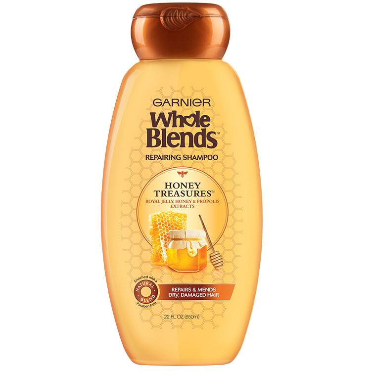Whole Blends Honey Treasure Shampoo 22 floz front